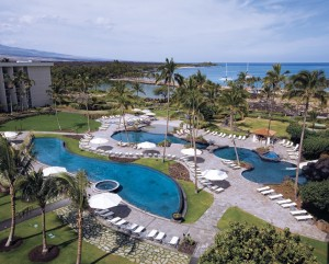 marriottInfinity Pools From Above - Horizontal
